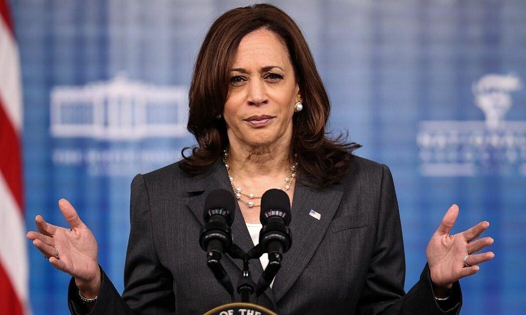Phó tổng thống Mỹ Kamala Harris tại thủ đô Washington hồi tháng 7. Ảnh: AFP.