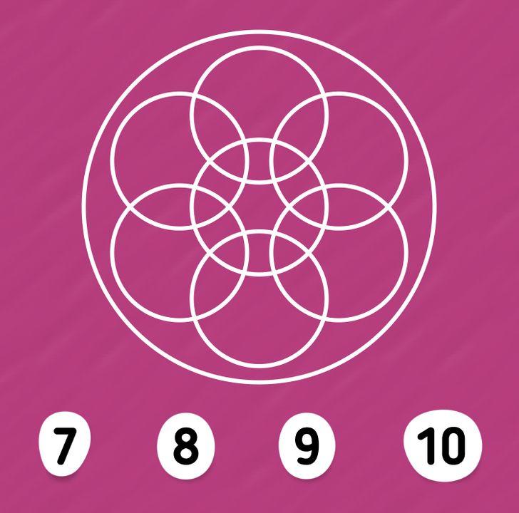 Thử thách đếm hình với bốn câu đố