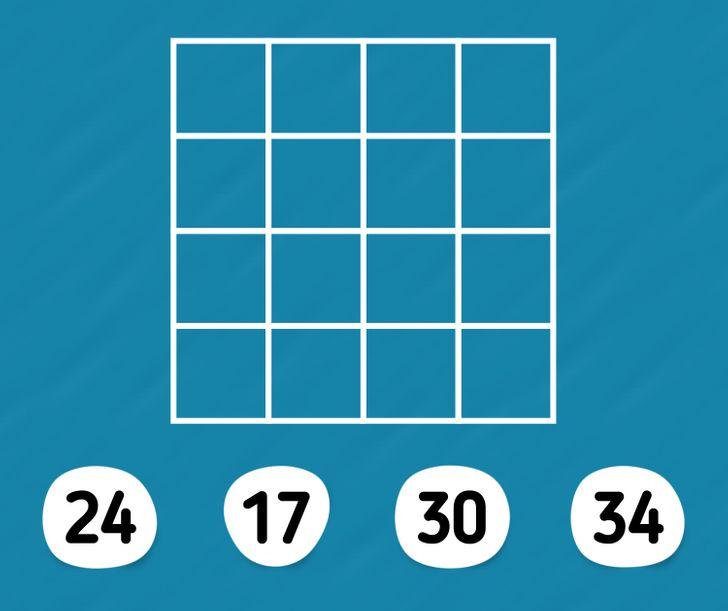 Thử thách đếm hình với bốn câu đố - 3