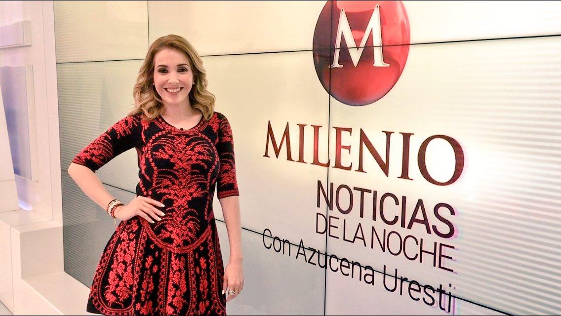 Azucena Uresti, người dẫn chương trình thời sự kênh Milenio TV bị băng đảng ma tuý Mexico doạ giết. Ảnh: PBS