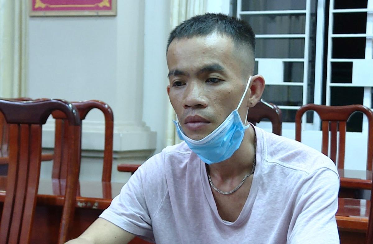 Trịnh Công Sơn tại Công an huyện Long Điền. Ảnh: Quang Bình.
