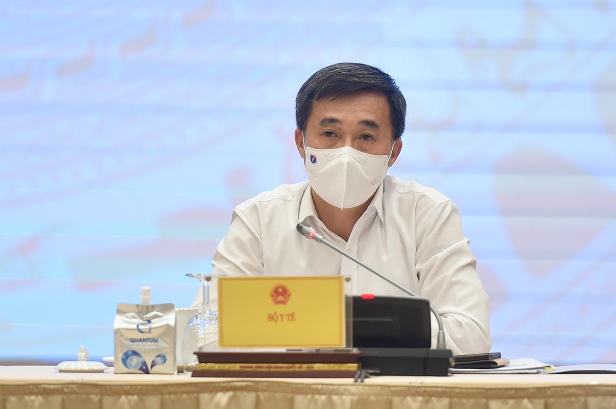 Thứ trưởng Y tế Trần Văn Thuấn. Ảnh: Nhật Bắc
