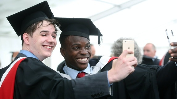 97% sinh viên đại học Cardiff có việc làm hoặc học lên cao trong vòng sáu tháng sau khi tốt nghiệp. Ảnh:Đại học Cardiff.