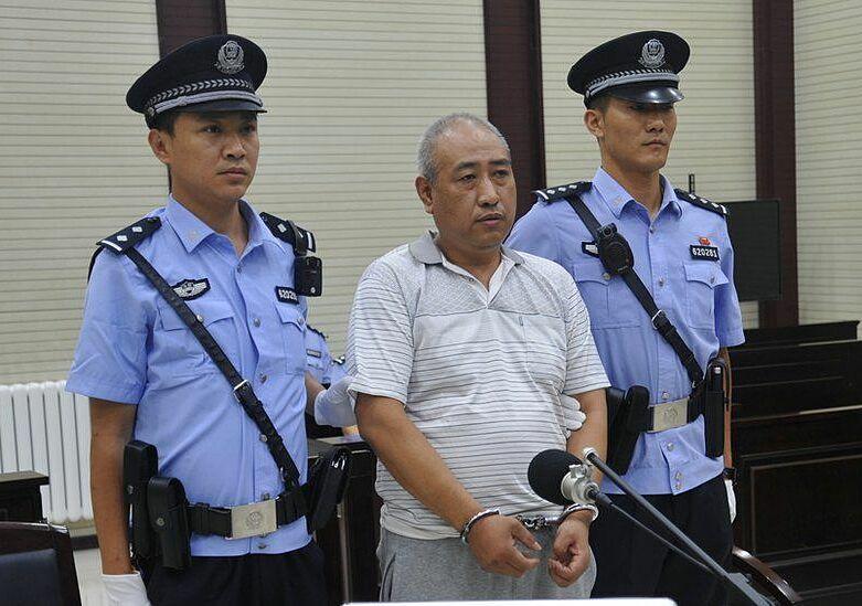 Cao Thừa Dũng trong phiên toà tháng 3/2018. Ảnh: Reuters