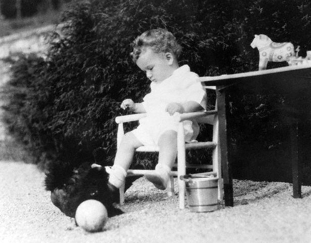 Augustus Lindbergh, cậu bé 20 tháng tuổi bị băt cóc và sát hại. Ảnh: FBI