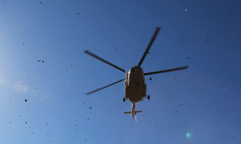 Một chiếc trực thăng Mi-8 của Nga. Ảnh: Sputnik.