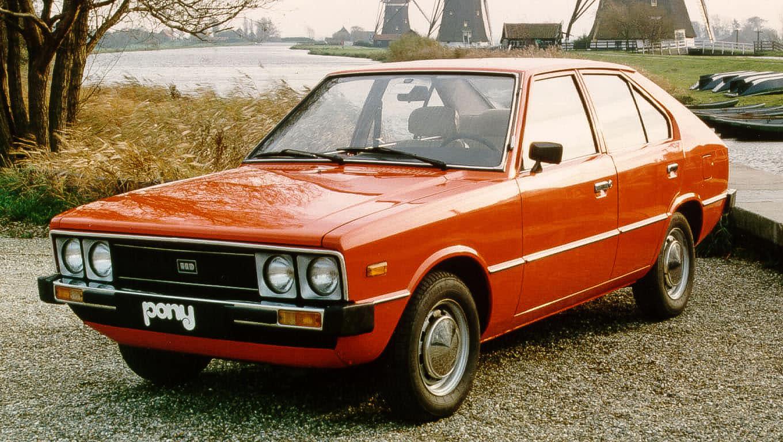 Hyundai Pony đời đầu. Ảnh: Hyundai