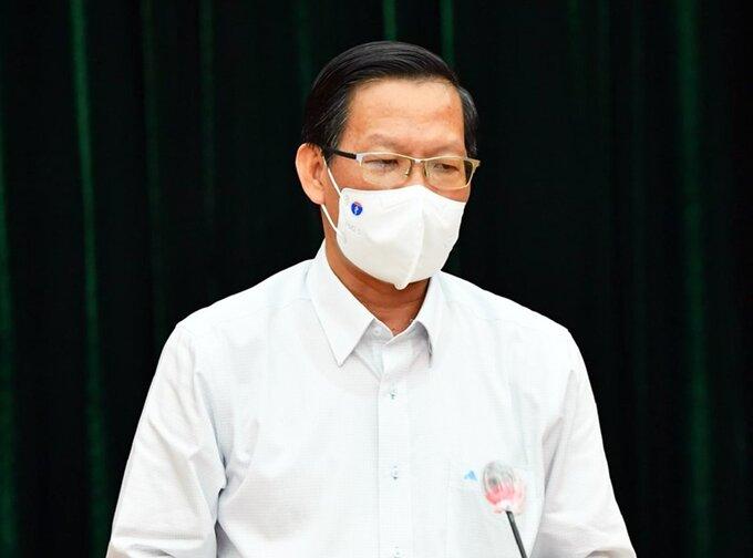Phó bí thư thường trực Thành uỷ TP HCM Phan Văn Mãi. Ảnh:Trung tâm Báo chí TP HCM.
