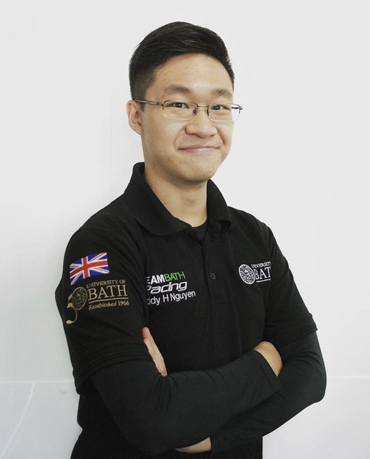 Nguyễn Hoàng Phúc là cựu sinh viên Đại học Bath (Anh). Ảnh: Nhân vật cung cấp.