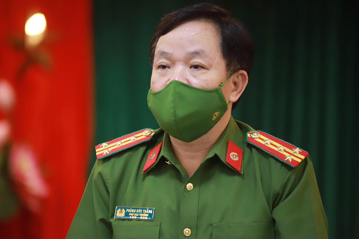 Coronel Phung Duc Thang.  Foto: Pham Du.