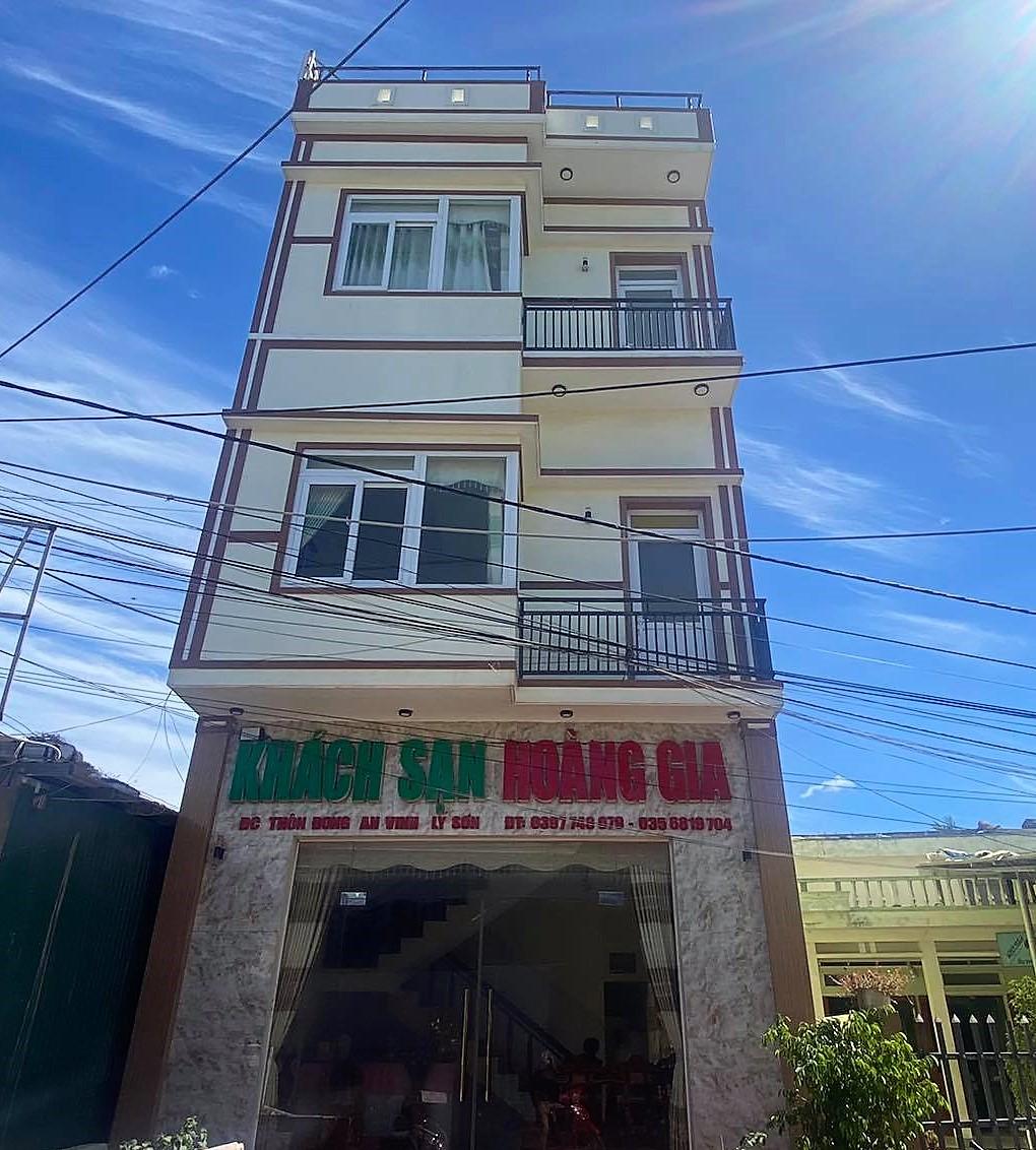 Một khách sạn ở đảo Lý Sơn đóng cửa vì Covid-19. Ảnh: Châu Đại Dương.