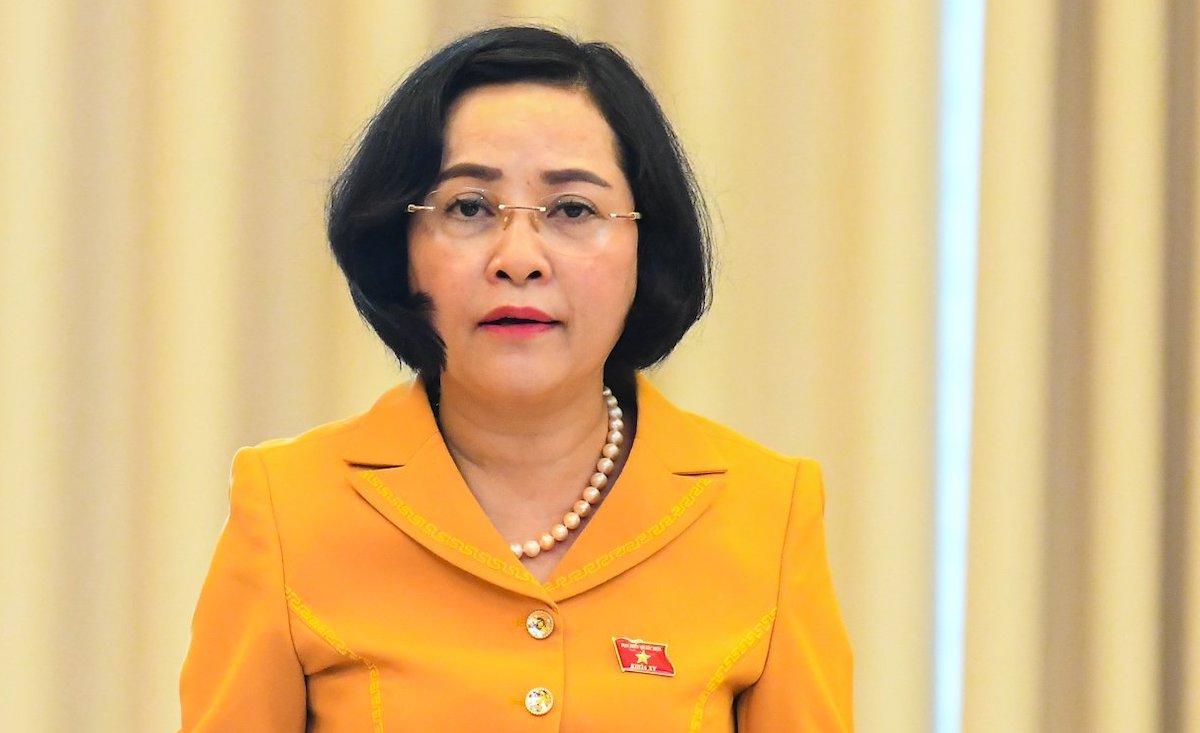 Trưởng Ban Công tác Đại biểu Nguyễn Thị Thanh