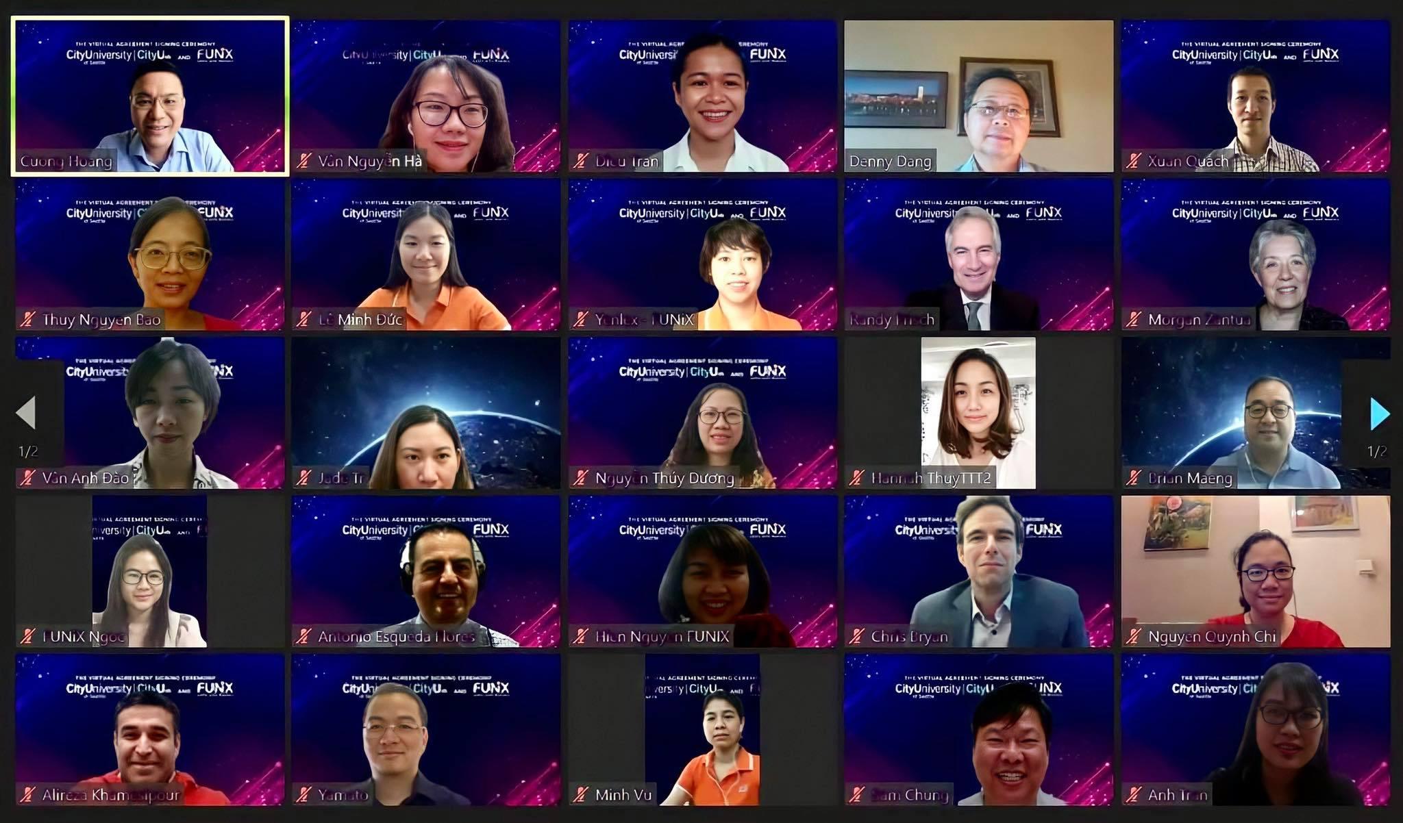 Chương trình hợp tác giữa CityU và FUNiX giúp học viên Việt Nam học tập và lấy bằng đại học Mỹ; linh hoạt, rút ngắn thời gian học với chi phí phù hợp. Ảnh: FUNiX