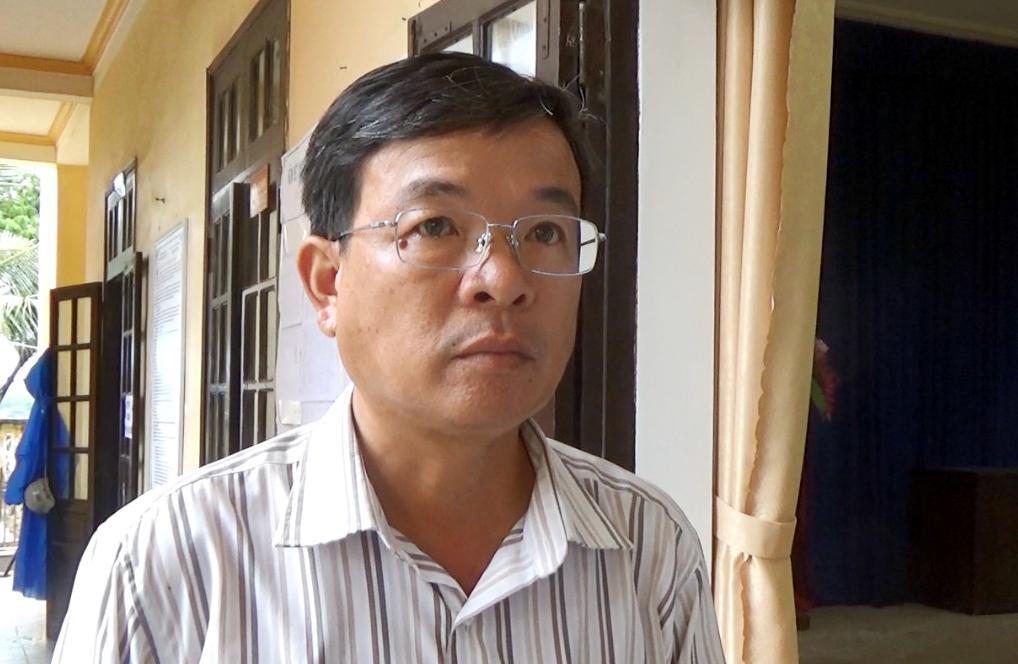 Ông Nguyễn Thế Hùng, Phó chủ tịch TP Hội An. Ảnh: Sơn Thủy.