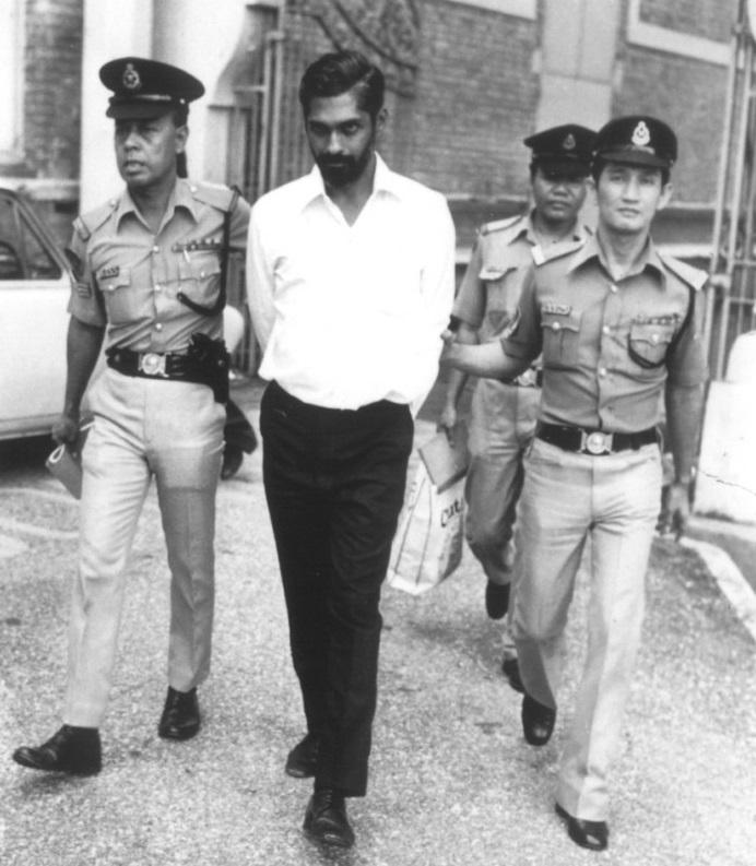 Karthigesu, anh chồng Jean bị cảnh sát bắt giữ do là nghi phạm duy nhất trong vụ án tình ái tay ba. Ảnh: iluminasi