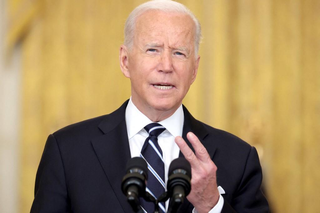Tổng thống Joe Biden tại Nhà Trắng ngày 18/8. Ảnh: AFP.