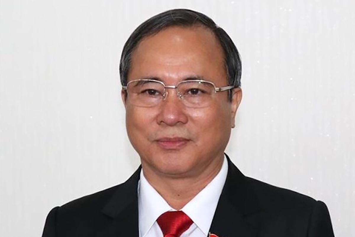 Cựu Bí thư Trần Văn Nam. Ảnh: TTX.