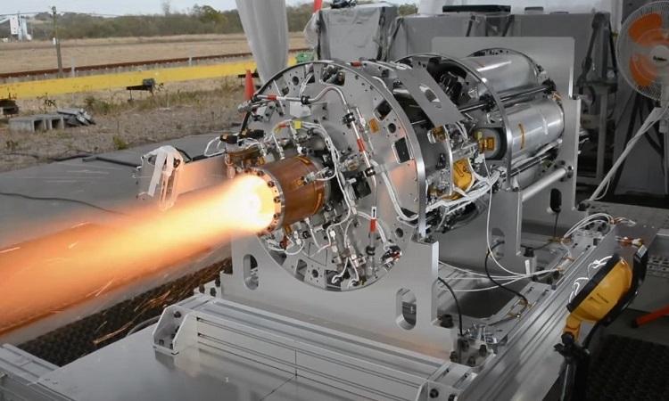 Động cơ kích nổ quay do JAXA phát triển. Ảnh: JAXA