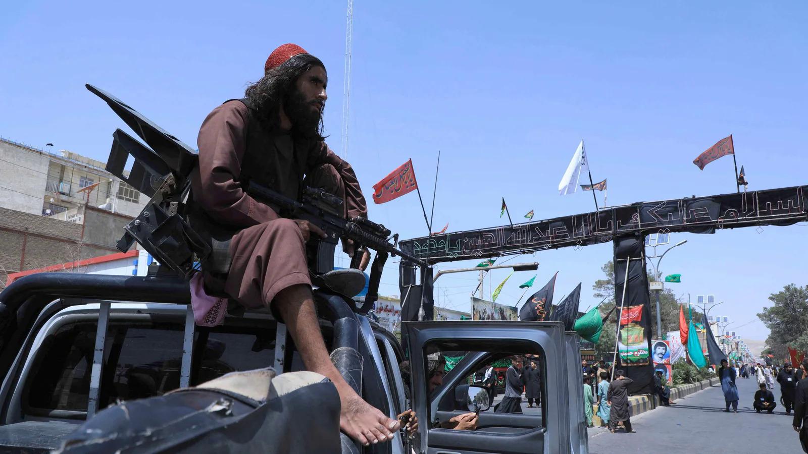 Lính Taliban tại Herat, Afghanistan ngày 19/8. Ảnh: AFP
