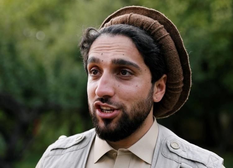 Ahmad Massoud, con trai anh hùng chống Taliban của Afghanistan Ahmad Shah Massoud. Ảnh: Reuters.