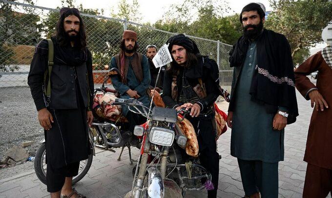 Chiến binh Taliban tại Kabul ngày 18/8. Ảnh: AFP