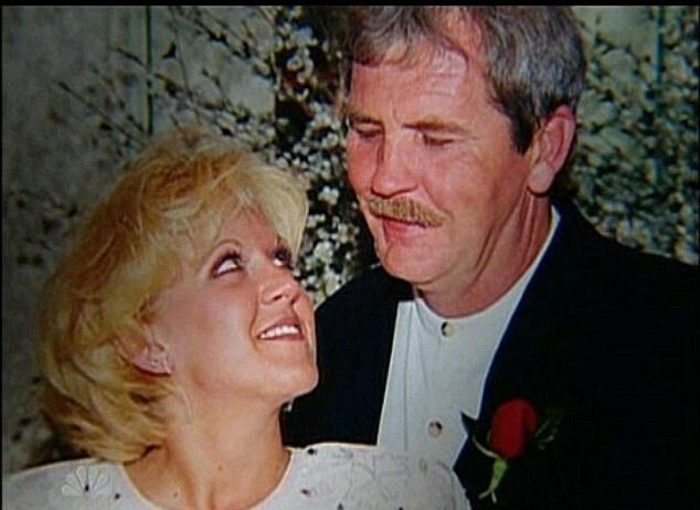 Bruce và Sharee tại lễ cưới, năm 1998. Ảnh: Murderpedia