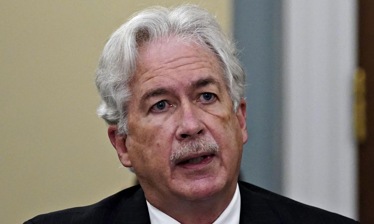 Giám đốc CIA William Burns trong một phiên điều trần trước quốc hội Mỹ ở Washington hôm 15/4. Ảnh: AFP.