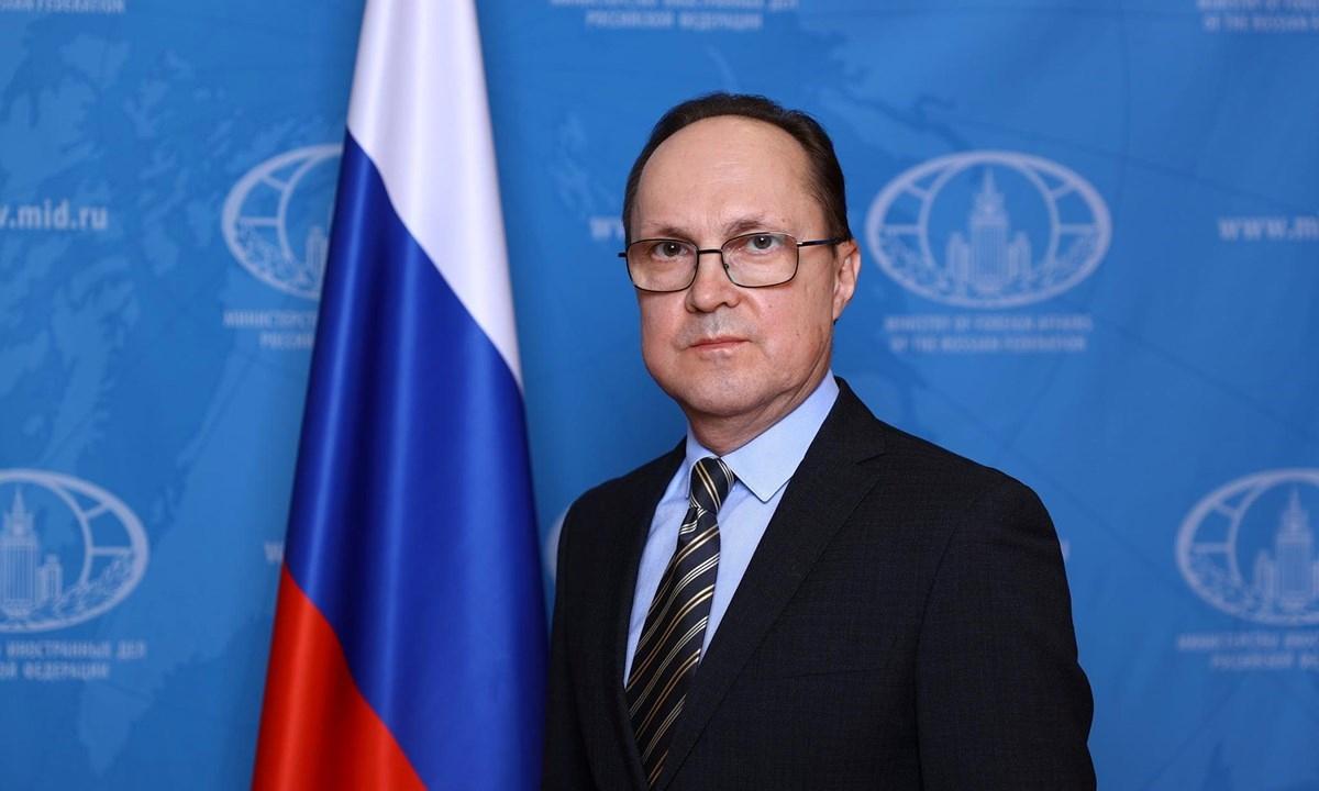 Đại sứ Nga tại Việt Nam Gennady Bezdetko. Ảnh: ĐSQ Nga tại Việt Nam.