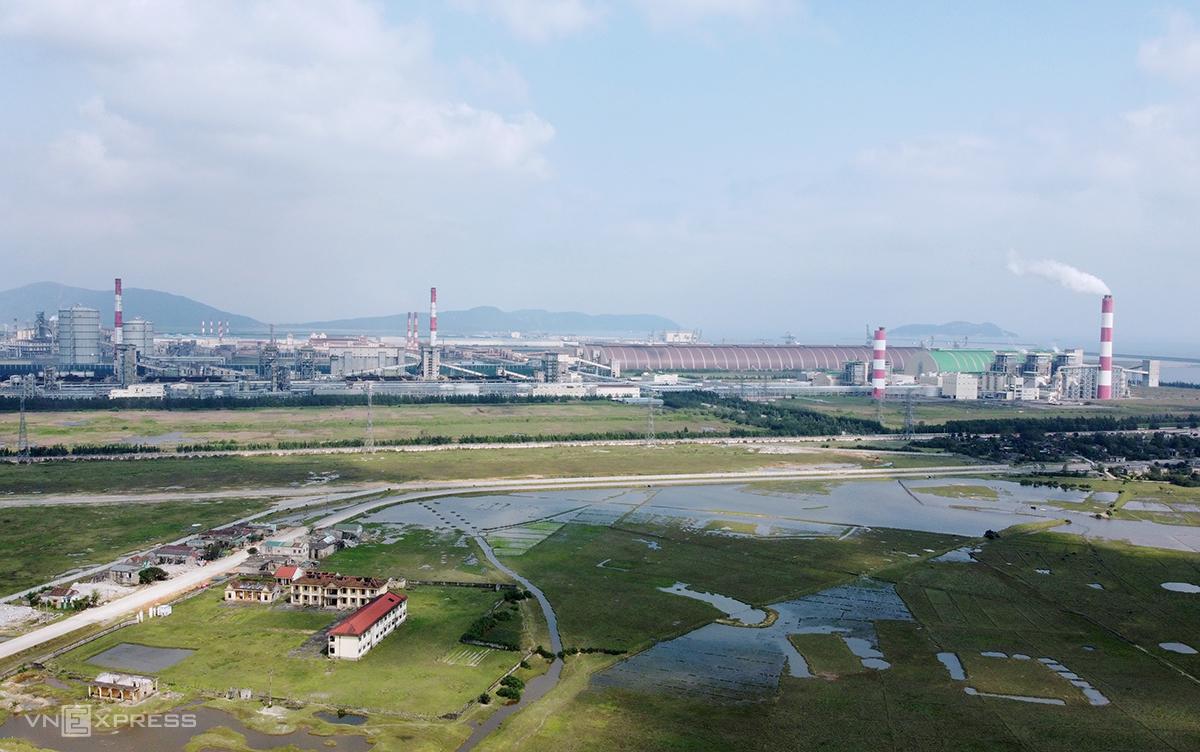 Một góc của Công ty Formosa, nơi xảy ra vụ việc. Ảnh: Đức Hùng