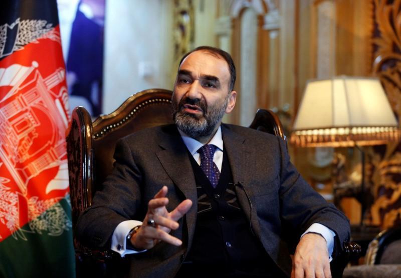 Atta Mohammad Noor, cựu thống đốc tỉnh Balkh, trả lời phỏng vấn tại Kabul, Afghanistan, hồi tháng 1/2017. Ảnh: Reuters.