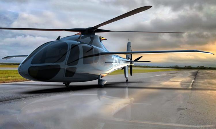 Thiết kế của trực thăng PA-890 chạy bằng điện. Ảnh: Piasecki Aircraft