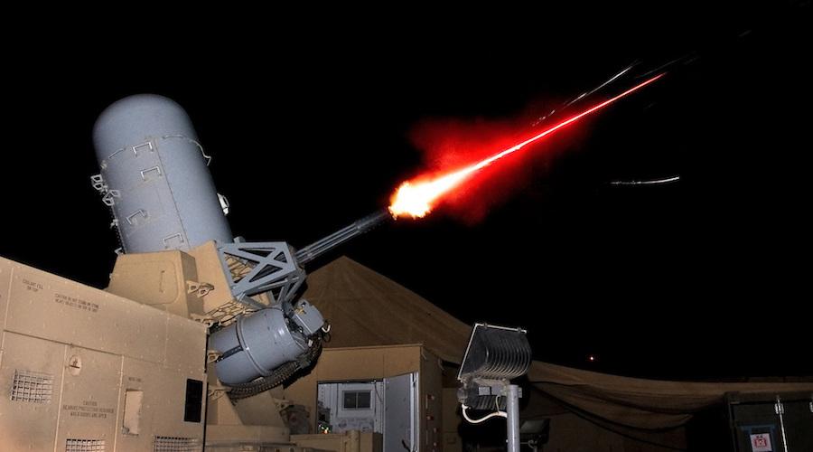 Tổ hợp C-RAM của Mỹ đánh chặn đạn cối tại Afghanistan năm 2011. Ảnh: US Army.