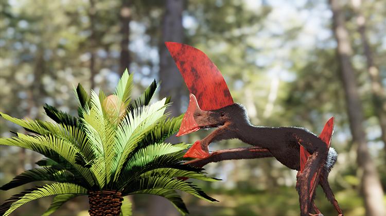 Hình ảnh phục dựng loài Tupandactylus navigans thuộc họ Tapejaridae. Ảnh: Victor Beccari