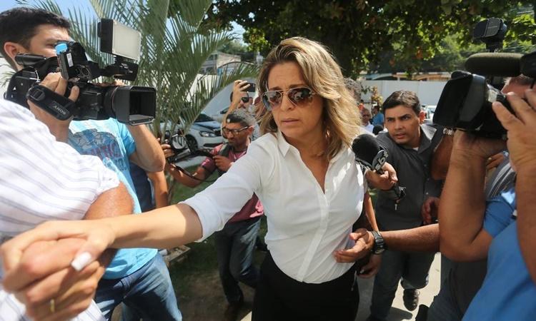 Francoise de Souza Oliveira, vợ đại sứ Hy Lạp tại Brazil Kyriakos Amiridis, người bị sát hại năm 2016. Ảnh:  Agencia O Globo.