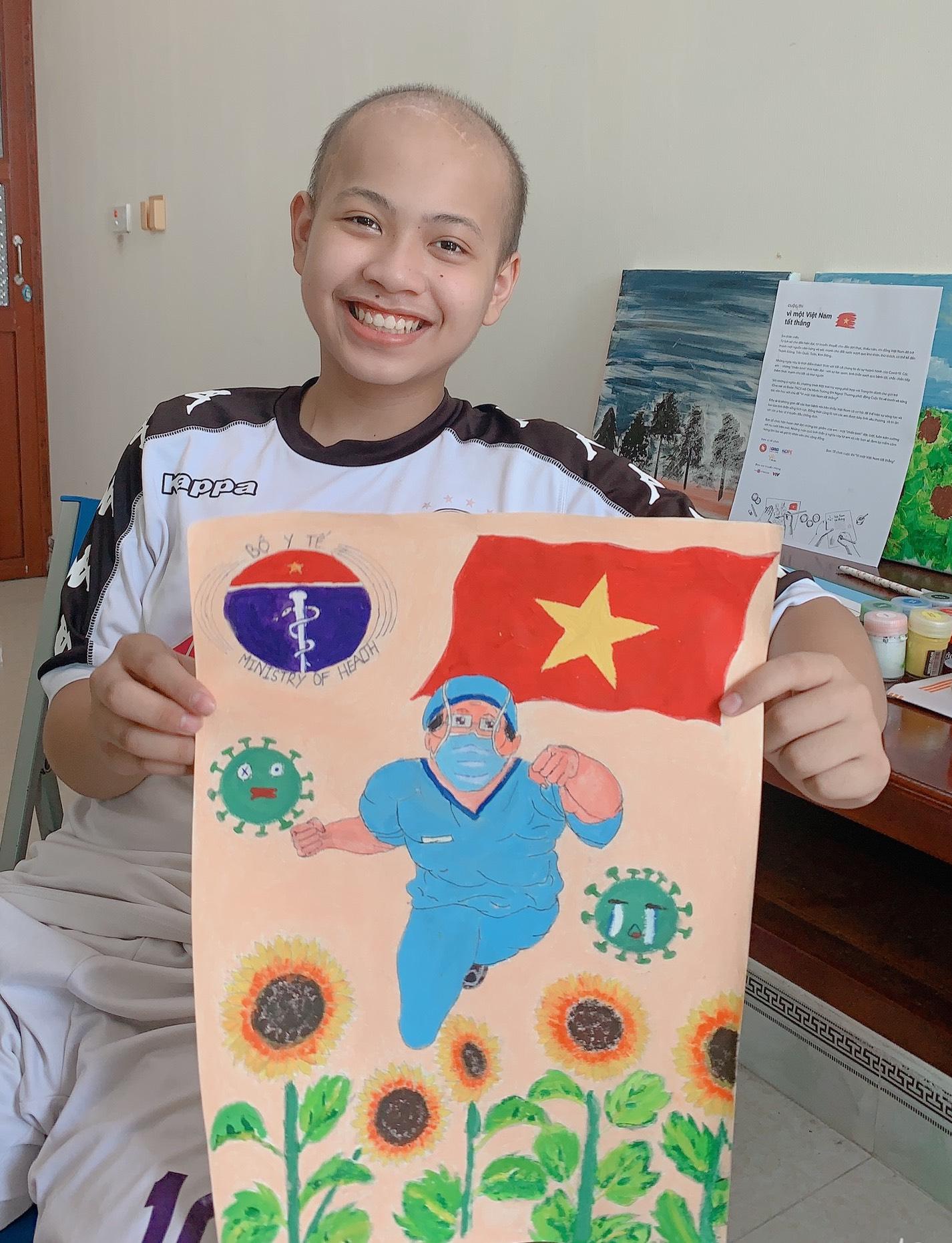 45 giải thưởng tại cuộc thi Vì một Việt Nam tất thắng