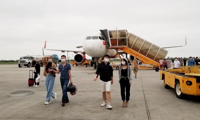 Sân bay Cát Bi. Ảnh: Giang Chinh