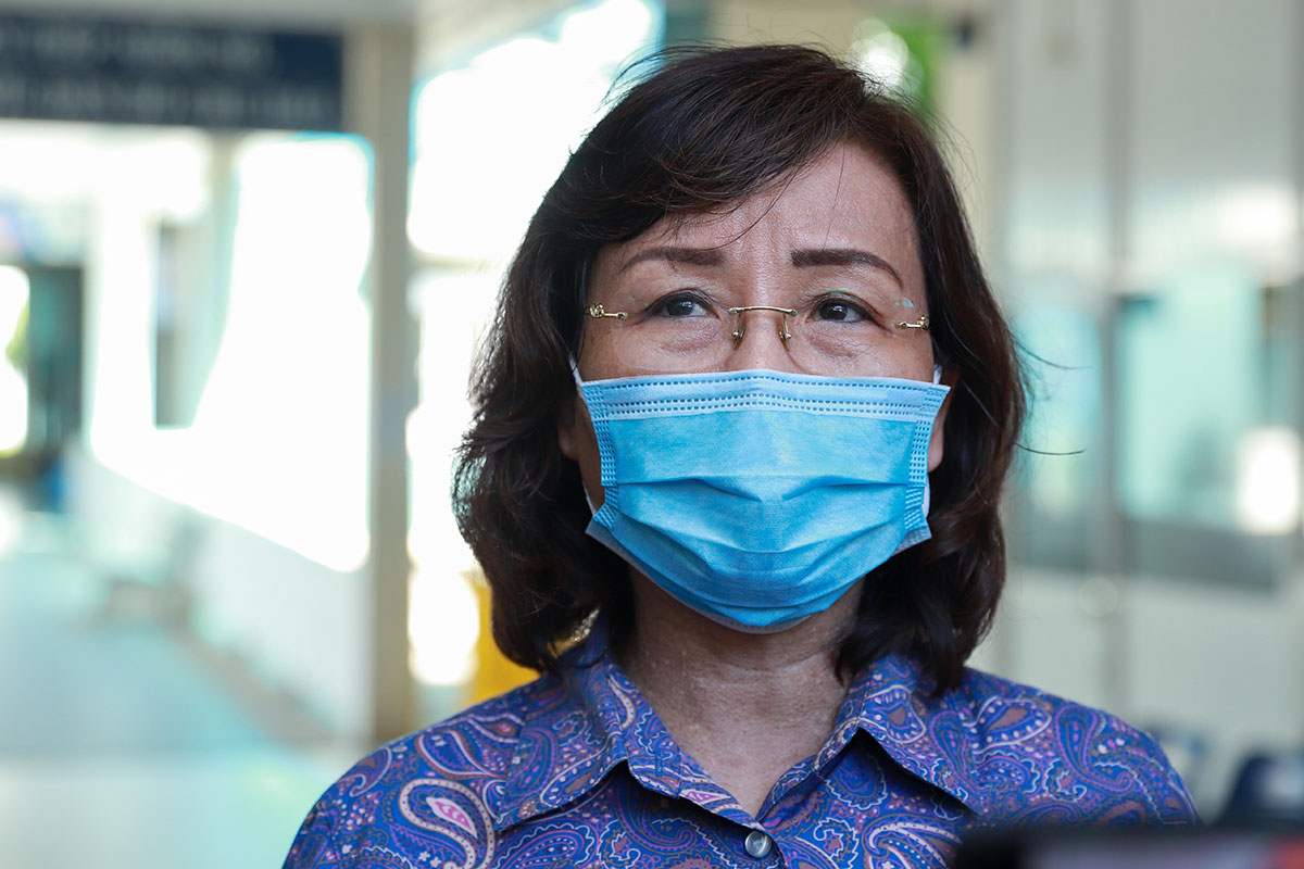 Bà Ngô Thị Kim Yến, Phó chủ tịch UBND TP Đà Nẵng. Ảnh: Nguyễn Đông