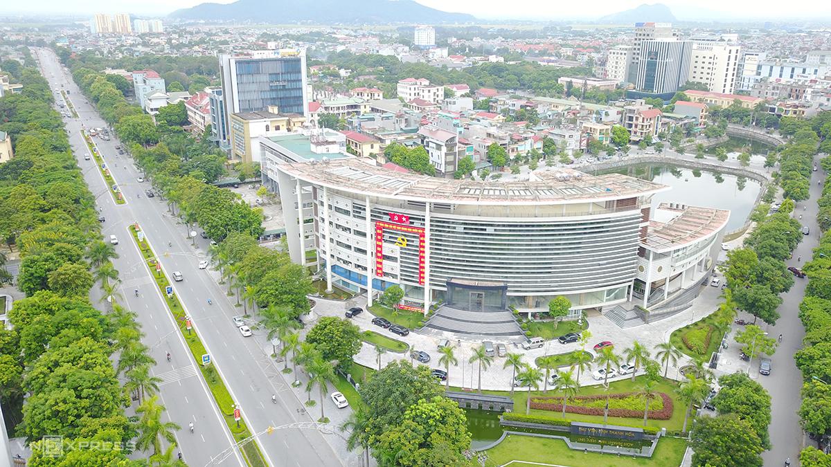 Thành phố Thanh Hoá sẽ áp dụng Chỉ thị 16 từ 0h ngày 2/9. Ảnh: Lê Hoàng.