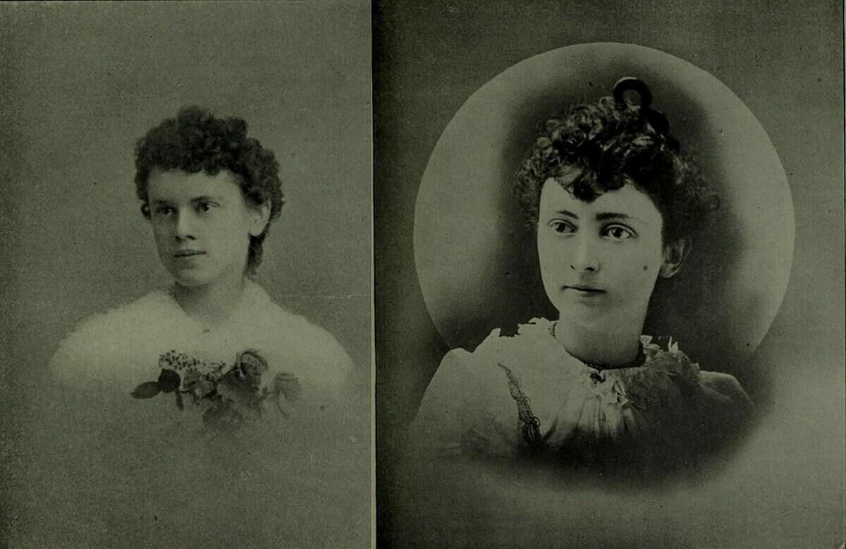 Minnie Williams (trái) và Blanche Lamont. Ảnh: SFgate