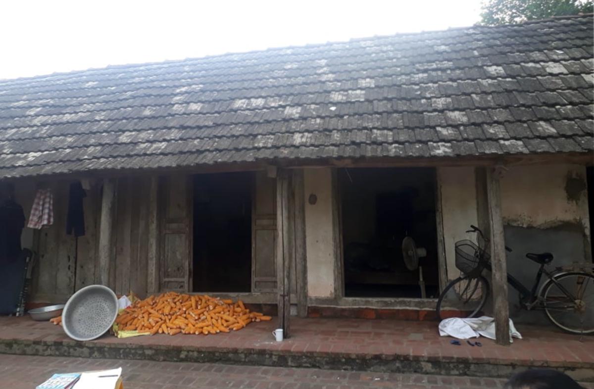 Ngôi nhà của Khuất Thị Thanh Lam ở Phúc Thọ, Hà Nội. Ảnh: Hồng Nhiệm