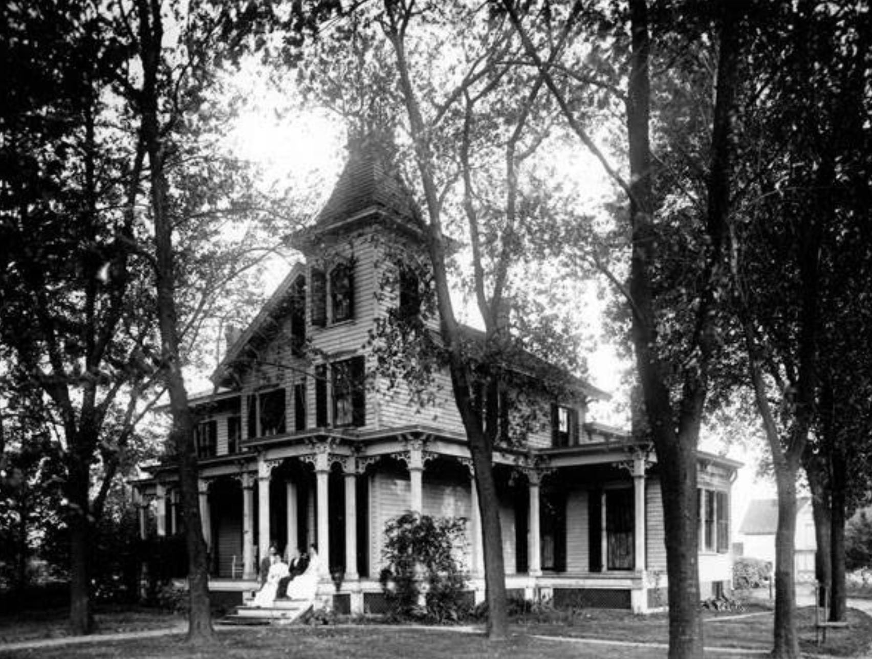 Một phần dinh thự của gia đình Bartlett. Ảnh: West Hempstead now and then