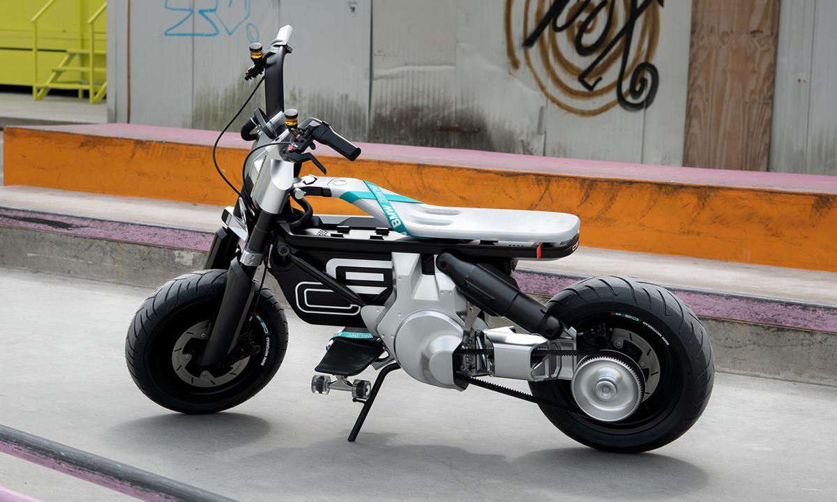 Xe điện CE02 Concept phát triển cho thị trường châu Âu. Ảnh: BMW Motorrad
