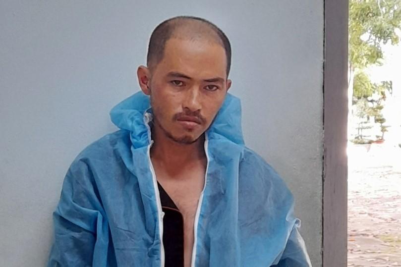 Đỗ Duy Ninh sau khi bị bắt. Ảnh: Tư Huynh