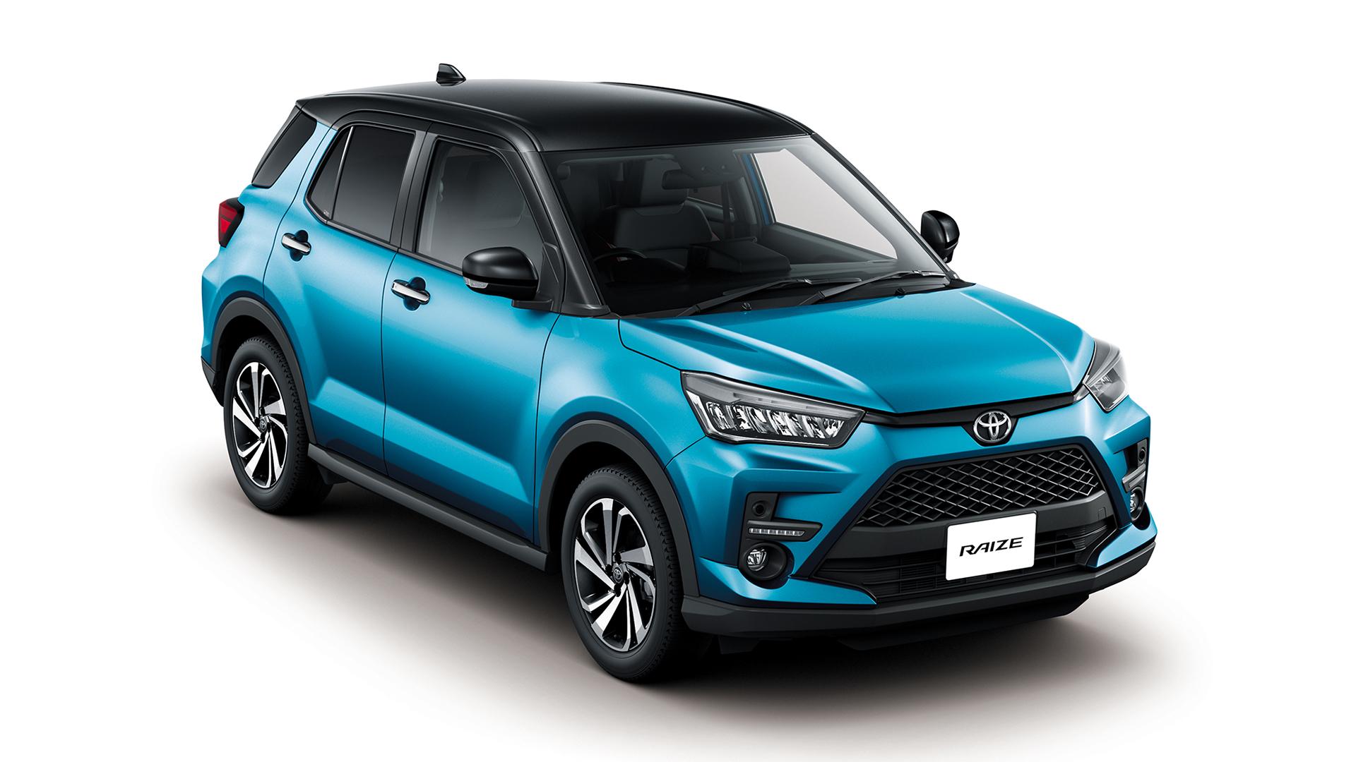 Toyota Raize ra mắt thị trường Indonesia. Ảnh: Toyota