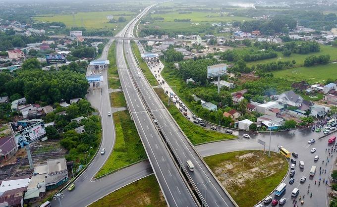Cao tốc TP HCM - Long Thành - Dầu Giây hiện nay sẽ kết nối với cao tốc Phan Thiết - Dầu Giây. Ảnh: Quỳnh Trần