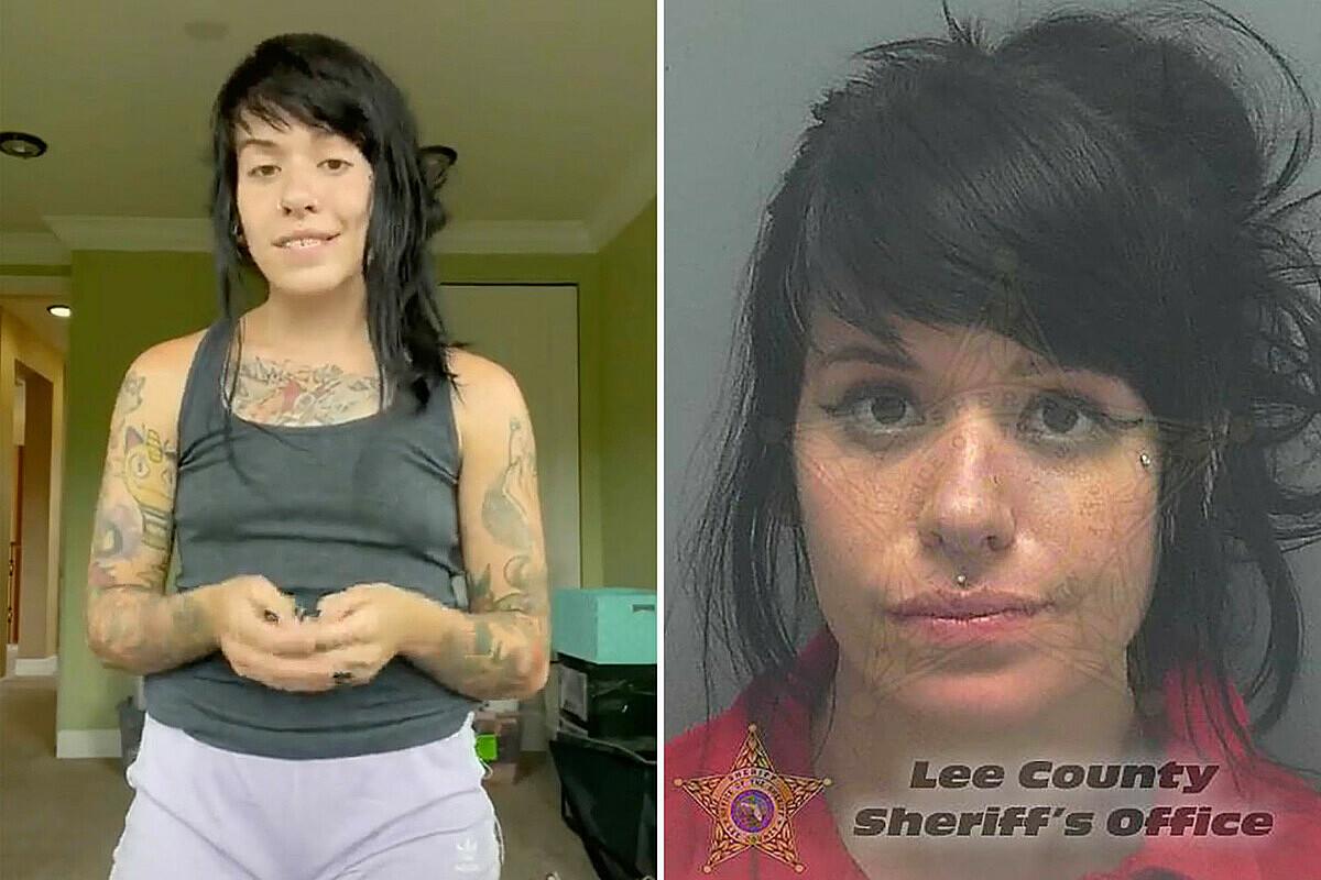 Marrissa Cloutier là ngôi sao trên Tik Tok với hơn 2,2 triệu người theo dõi. Ảnh: Lee County Sheriffs Office