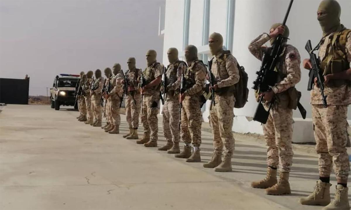 Các binh sĩ thuộc lữ đoàn 444 của Libya. Ảnh: Facebook/444thCombatBrigade.
