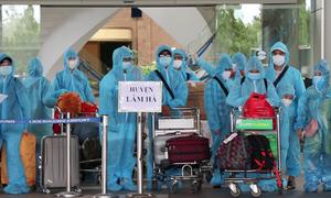 3 chuyến bay đón thai phụ và người thân về Lâm Đồng