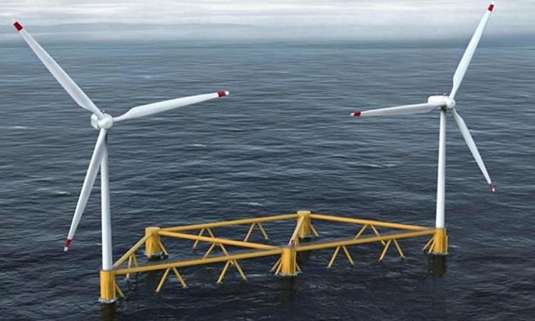Thiết kế turbine gió nổi của CoensHexicon. Ảnh: CoensHexicon