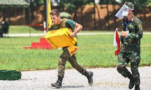 Nhìn lại 4 ngày thi đấu tại Army Games